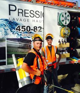 Service de lavage mobile - Lavage Pression Net à Morin Heights