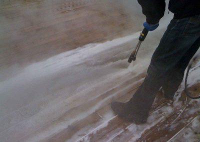 Nettoyage haute pression de patio dans la région de Montréal - Lavage Pression Net à Morin Heights