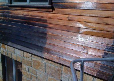 Lavage de revêtement extérieur à Terrebonne - Lavage Pression Net à Morin Heights