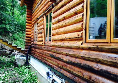 Service de nettoyage de revetement extérieur - Lavage Pression Net dans la region de Morin Heights